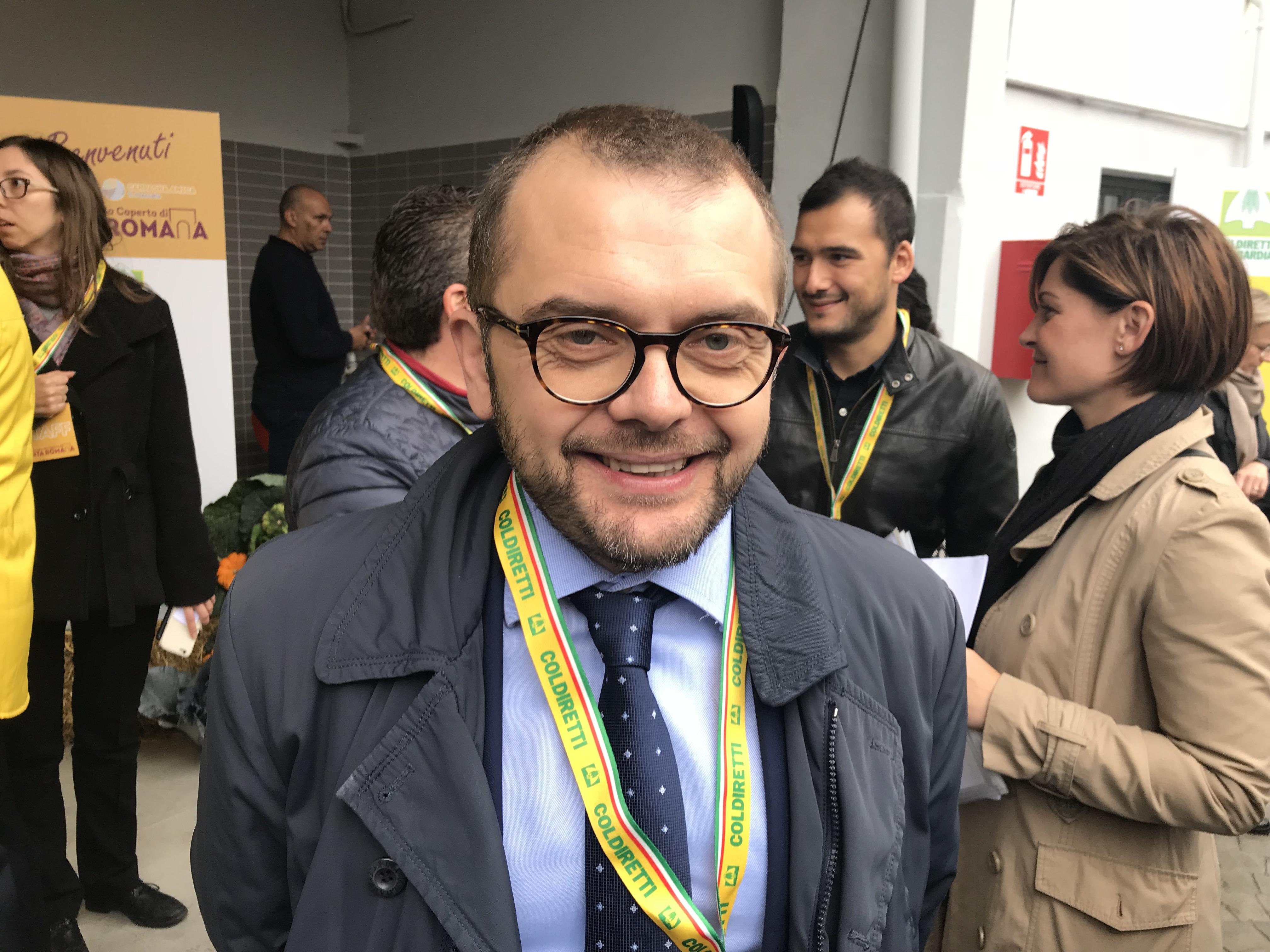 L'assessore Fabio Rolfi
