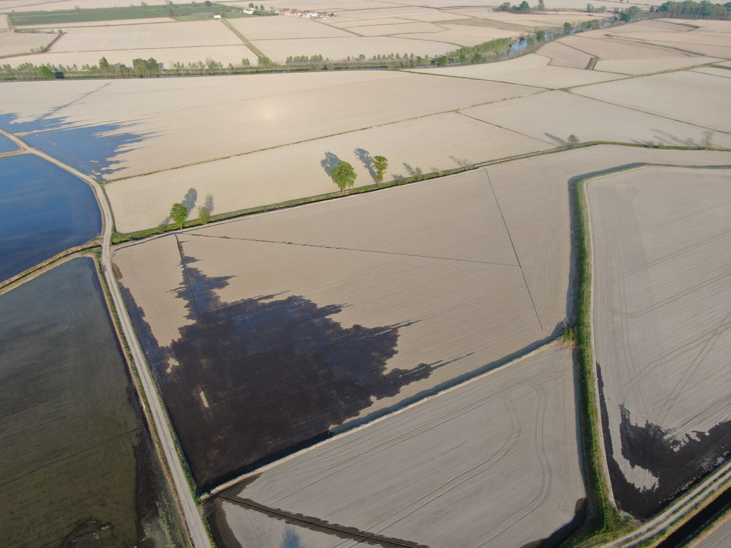 Foto aerea della Lomellina_ Giotto droni
