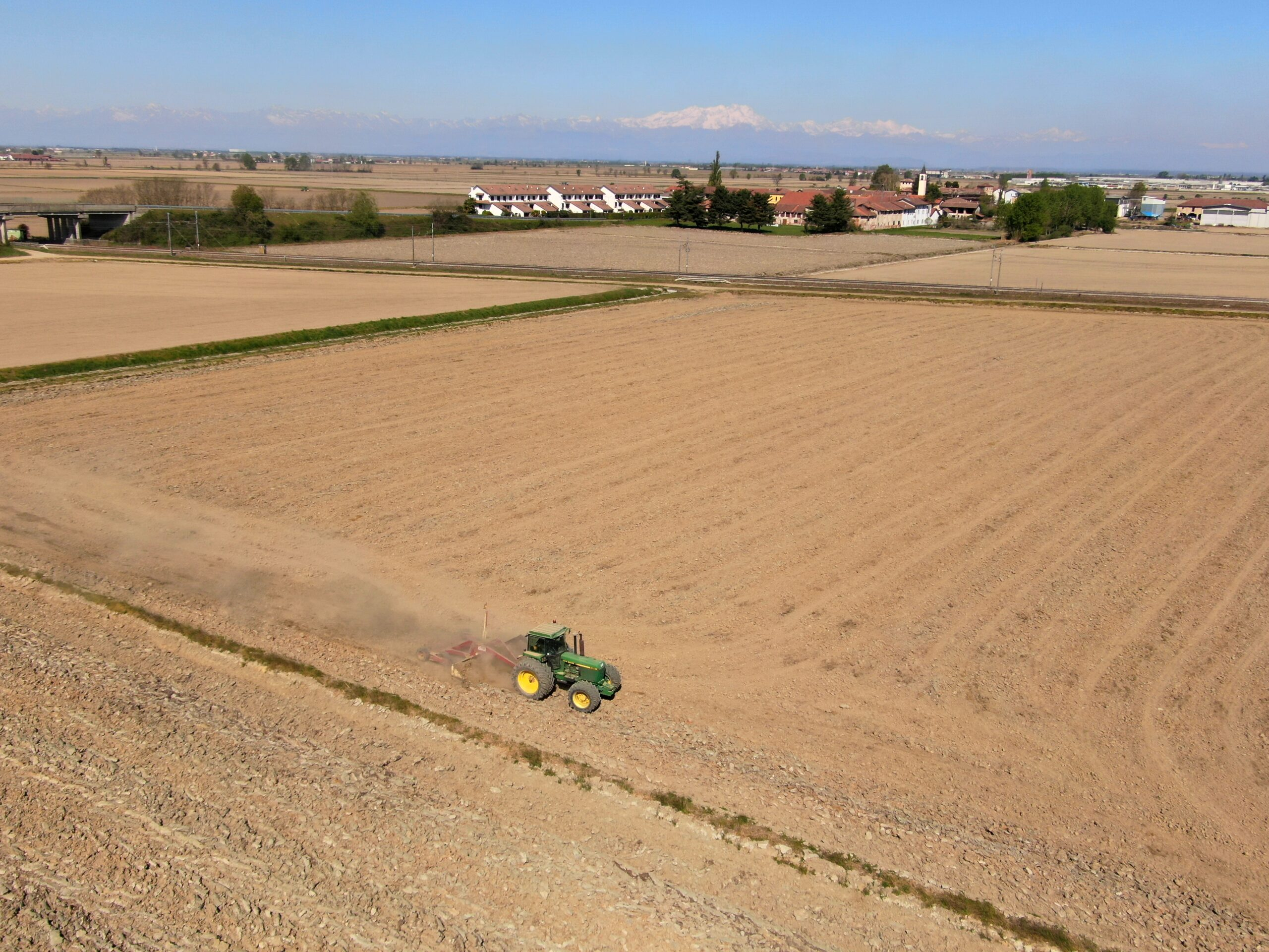 Foto aerea Novara_ Giotto droni